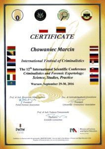 International Festival of Criminalistics