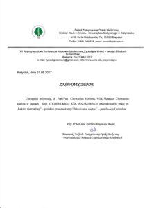 Uniwersytet Medyczny w Białymstoku - Lekarz nietrzeźwy - problem prawnokarny