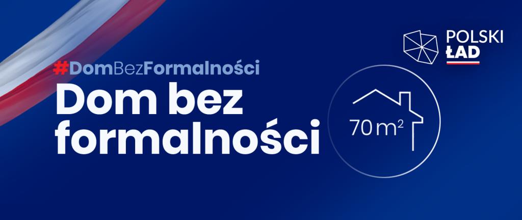 Polski Ład - dom do 70 m2 bez pozwolenia na budowę